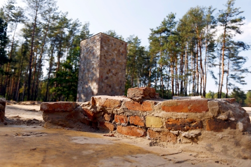 An 8-year excavation at Sobibor, Poland has revealed the walls of the gas chambers at the Nazi concentration camp there, where 250,000 people were murdered during World War II. The camp's only purpose was extermination, and as the Allies turned the tide of the war and the Germans were forced to abandon this location, they paved it over to hide what they had done. (Kacper Pempel/Reuters)