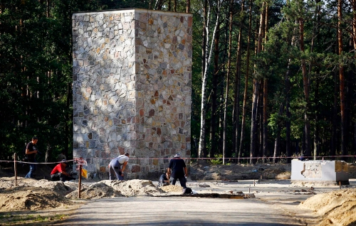 Gas chamber at Sobibor (Kacper Pempel/Reuters)