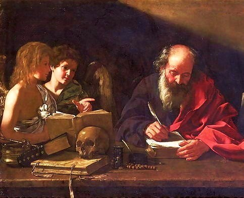 Bartolomeo Cavarozzi, 17th Century: St. Jerome in HIs Study, Visited by Angels