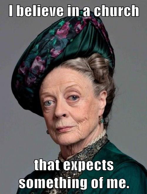3 Dowager.ChurchExpects