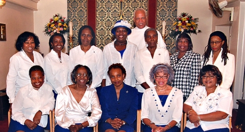 Daughters of the King at St. Joseph's, Queens Village, New York. (parish website)