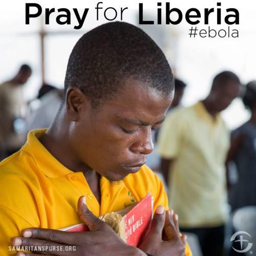 PrayForLiberia