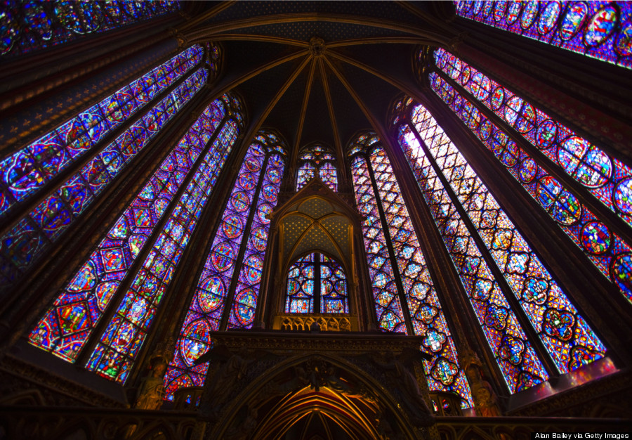 This is a Christian church – Sainte-Chapelle in Paris – not the ancient Temple in Jerusalem, but it surely reflects the message of Haggai that God's House be a place of splendor. (Huffington Post)