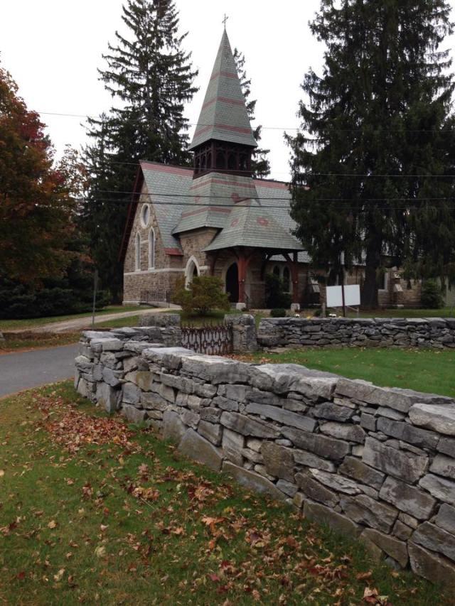Trinity Church, Falls Village, Connecticut, USA. (The Episcopal Church on Facebook)