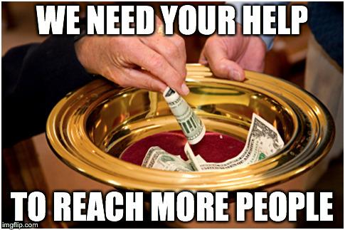 We Need Your Help Generic