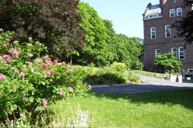Grounds of the Order of the Holy Cross, founded by James Huntington in West Park, New York. (Josh Thomas/dailyoffice.org)