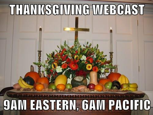 ThanksgivingWebcast