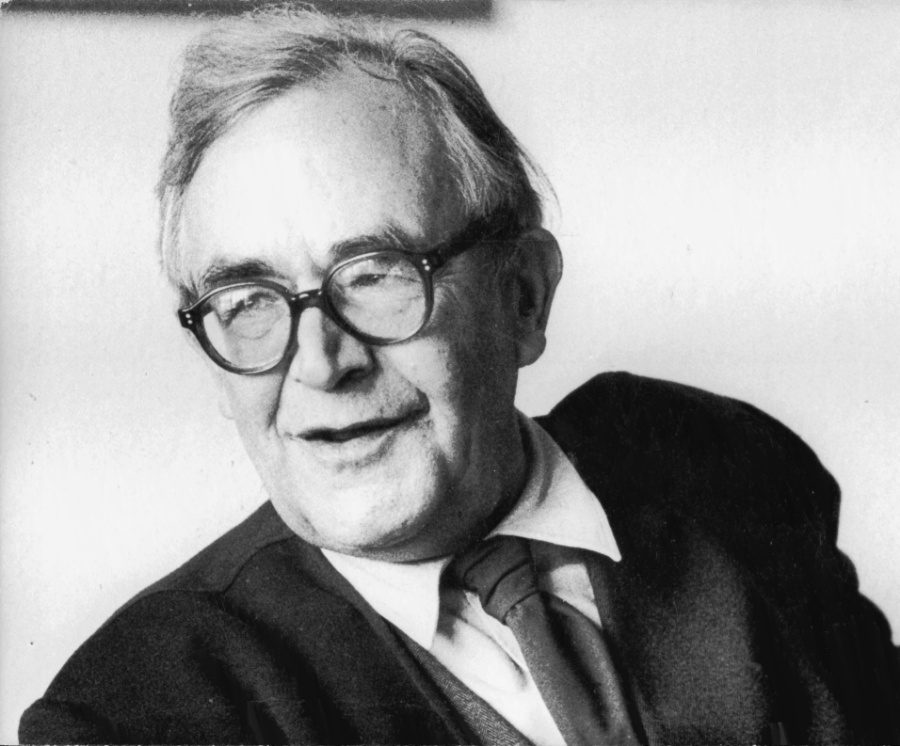 Karl Barth came to believe that the Christian culture during and after the 1st World War had accomodated itself too easily to the prevailing culture instead of providing a dynamic critique, so he reasserted doctrines of God's sovereignty and human sin. When Hitler rose to power, Swiss-born Barth joined the Confessional Church in opposing the Third Reich's violence. He was forced to give up his professorship, and devoted the rest of his life to writing his 13-volume opus on Church Dogmatics. Pius XII regarded him as the most important theologian since Thomas Aquinas. (Maria Netter)
