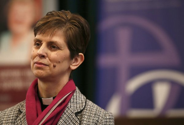 The Rev. Libby Lane has been selected as the next (suffragan) Bishop of Stockport in the Diocese of Chester, the first woman bishop in the history of the Church of England. She is to be consecrated January 26, the Feast of the Conversion of St. Paul. Other women priests are expected to be named soon, including as diocesan bishops. (Phil Noble/Reuters)