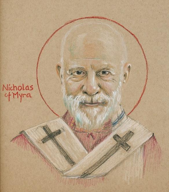 St Nicholas of Myra, by Fr. Tobias Haller BSG