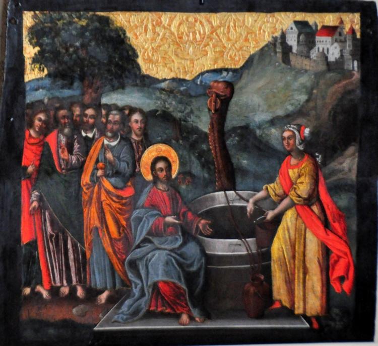 Ivan Rutkovych: Christ and the Samaritan Woman (Lviv National Museum, Ukraine)