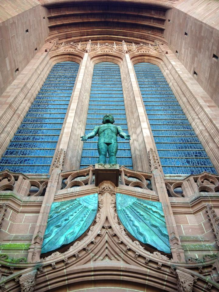 Liverpool Cathedral, England, completed in 1978. (Bishop Alan Wilson)