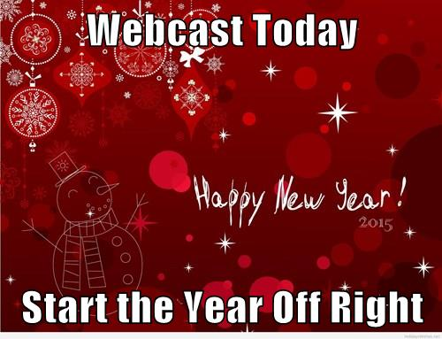 Webcast New Year