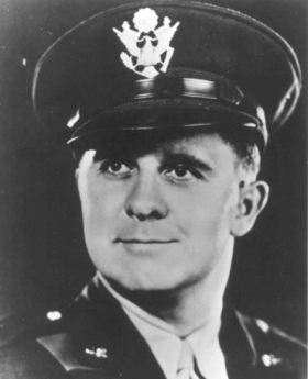 Lt. Clark V. Poling, son of a Baptist minister and chaplain during World War I, grew up in Poughkeepsie, New York and played football in high school. He graduated from Rutgers University and Yale Divinity School, was ordained in the Reformed Church of America and pastored a church in Schenectady, N.Y. When the Second World War broke out he enlisted immediately. He and his fellow chaplains ministered to 900 soldiers on the transport ship Dorchester, headed for England by way of Greenland, when the ship was downed by a German U-boat. He was married to Elizabeth, had a young son named Corky, and his daughter Susan Elizabeth was born three months after his death.