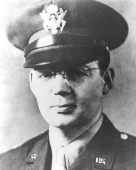 Lt. Father John P. Washington was the son of Irish immigrants and grew up in Newark, New Jersey. He was an altar boy who became a teenage gang leader, but a call to the priesthood turned his life around. He went to high school at a minor seminary and graduated from the School of Theology at Seton Hall University, then was ordained a Roman Catholic priest in 1935. He enlisted in the Army immediately after the Japanese attacked Pearl Harbor in 1941. His next of kin received his Four Chaplains Medal established by Congress, along with the other families, from the Secretary of the Army in 1961.