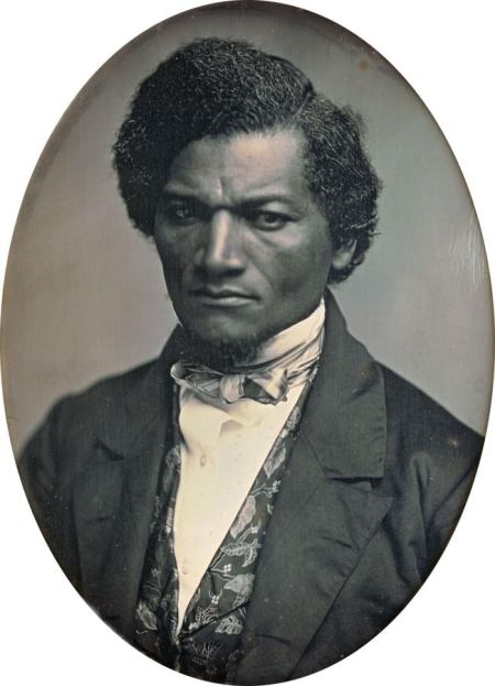 """Douglass denounced churches which failed to condemn slavery by quoting Jesus's excoriating the Pharisees: """"They bind heavy burdens and grievous to be borne, and lay them on men's shoulders; but they themselves will not move them with one of their fingers."""" (Matthew 23:4)"""