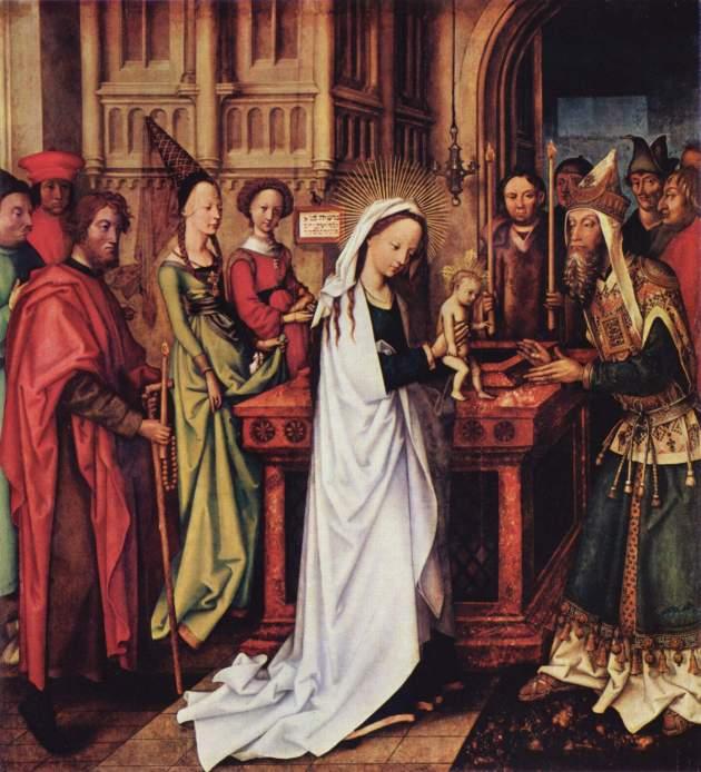 Hans Holbein the Elder, 1501: Presentation of Christ (Kunsthalle Hamburg)