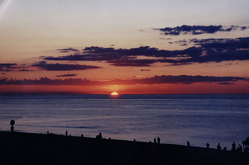 For the beauty of the Earth: sunset on Race Point Beach, Provincetown, Massachusetts.