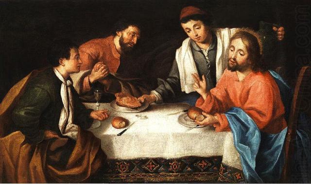 Pier Leone Ghezzi: Christ Breaking Bread at Emmaus