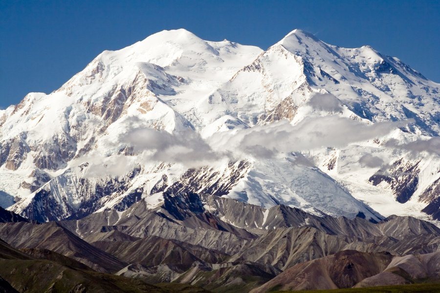 This is Fr. Stuck's mountain: Mt. McKinley, the highest peak in North America, in Denali National Park, Alaska. (Wikipedia)