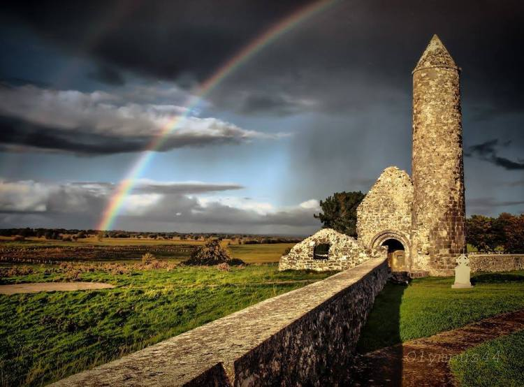 For joy in God's creation: Clonmacnoise, Ireland, 2015. (Facebook)