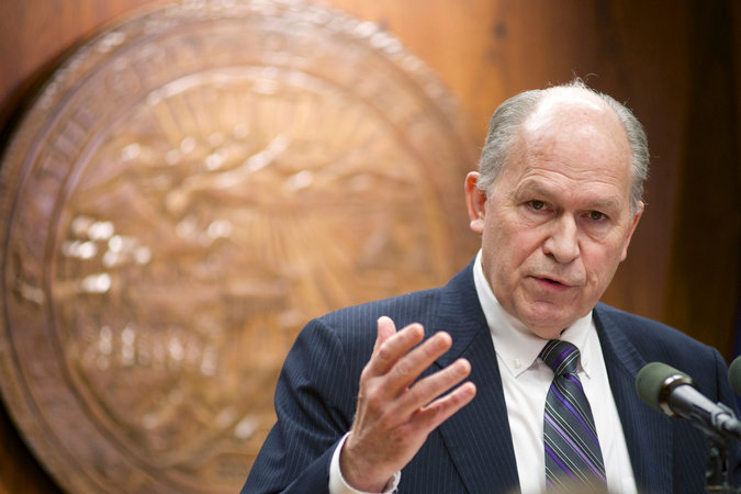 """The Governor of Alaska, Bill Walker, announced this week that he will accept funding from the Federal government to extend health care benefits for 45,000 low-income citizens, bucking the trend in more than half of U.S. states where opposition governors have refused the money. He announced his decision at an Indian Health Service clinic on his own initiative after failing to get approval from the state legislature. He has a business background and was elected as an independent, saying the Medicaid expansion was a priority. Washington will pay the full amount for the first few years, gradually dropping to 90% of the cost, but a majority of governors – nearly all of whom claim to be Christians – would rather let the poor suffer than give them """"something for nothing."""" (Michael Penn/The Juneau Empire)"""
