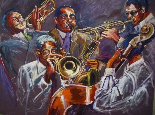 Jazz was invented by highly-trained African-American symphonic musicians who added syncopation and improvisation to their repertoire – and people could hear it on their phonographs.