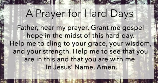 PrayerForHardDays