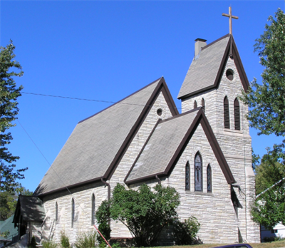 St. Luke's, Plattsmouth, Nebraska, is celebrating its 150th anniversary this year. This morning, with both their clergy away, a member of our site will lead Morning Prayer. (parish website)