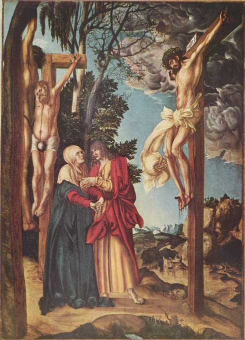Lucas Cranach the Elder, 1502: Crucifixion