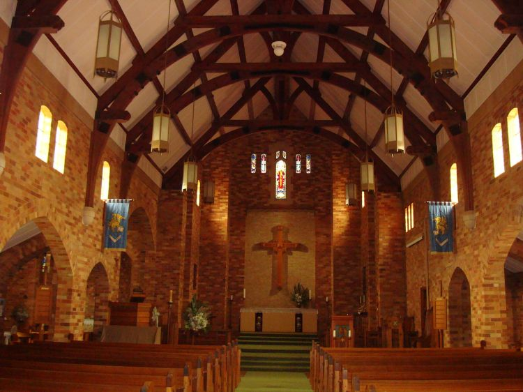 St. Alban's Cathedral, Griffith, New South Wales in the Diocese of Riverina. (John Armagh)