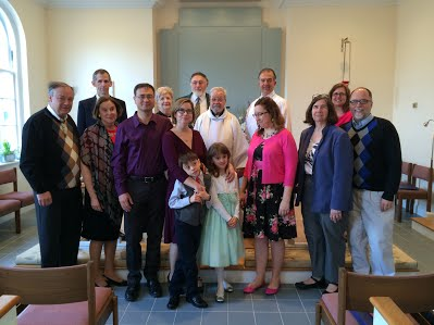 Members of St. Barnabas Church of the Deaf in Chevy Chase, Maryland, a suburb of Washington, D.C. They've met in the chapel at St. John's, Norwood, since 1978. (parish website)
