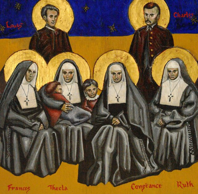 Liz Easton: Constance and Companions, Martyrs of Memphis. Sister Constance and other nuns of the Community of St. Mary, as well as these missionary priests, were among the martyrs of all denominations who gave their lives to care for residents of Memphis, Tennessee during a deadly yellow fever epidemic. Thirty thousand people fled, 5000 died, but those who survived have remembered those who cared for them ever since. (sticksandsnakes.typepad.com)