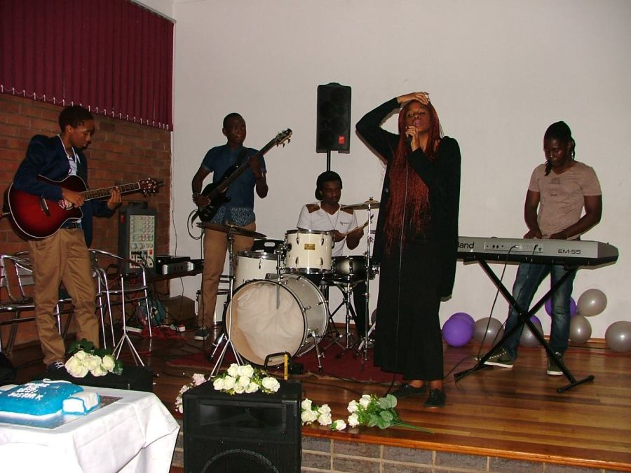 A live band at the Youth Awards Night earlier this year at Christ Church Cathedral, Polokwane, South Africa. The parish was founded in 1895. (Cathedral Facebook page)