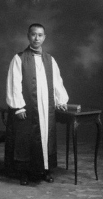 Bishop Tsen was raised by Episcopal missionaries and after ordination worked with Canadian missioners in China. In 1948 he attended the Lambeth Conference in England, then arrived home and was put under house arrest by the Communist government, whose oppression of Christians continues today. (christchurchwindsor.ca)