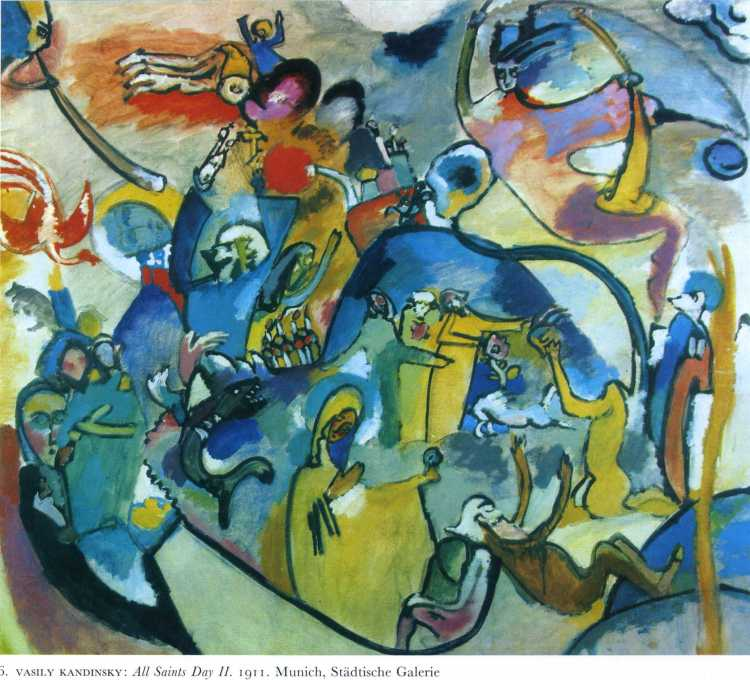 Vasily Kandinsky: All Saints