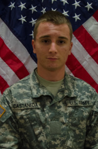 The U.S. Army's 10th Mountain Division announced the non-combat death of Pvt. Christopher J. Castaneda at Al Asad Air Base, Iraq while he was serving there as an infantryman. Pvt. Castaneda enlisted in January 2015 and deployed in August to Operation Inherent Resolve in Iraq. Although there are no details of the circumstances surrounding his death, he was awarded a posthumous Army Achievement Medal.