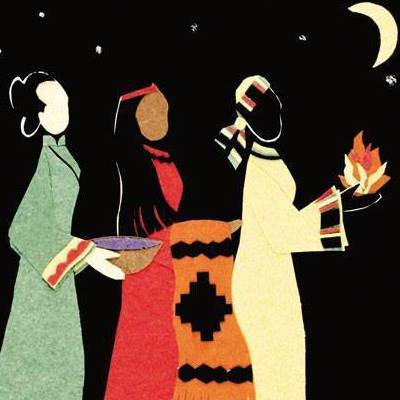 We're always ready to hear about the wise men this time of year, but what did the women of Epiphany bring? Things Mary and Joseph could actually use, like food, blankets and fire. (Facebook)