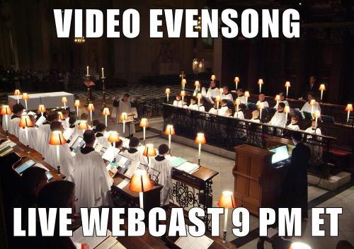VideoEvensong2016.Webcast