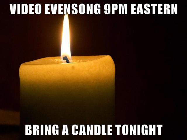 Evensong Bring a Candle