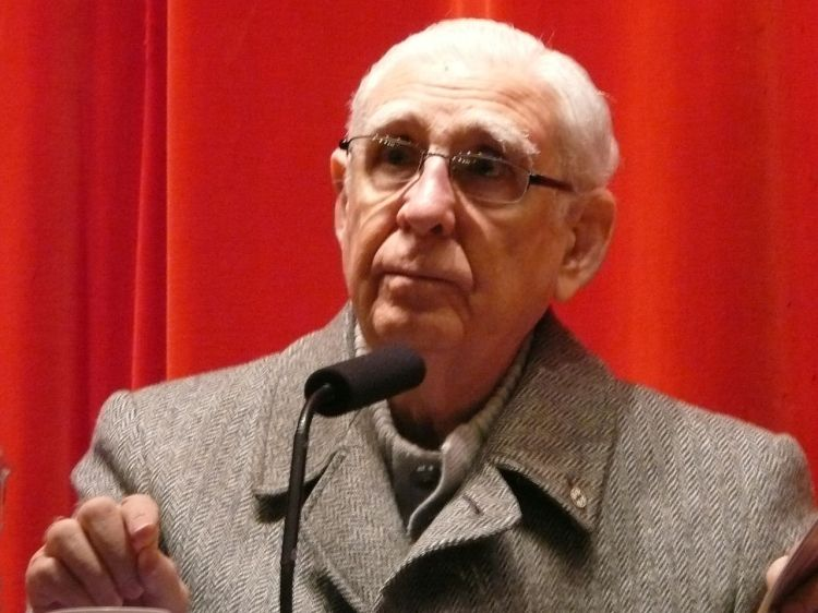 "The Rev. Fernando Cardenal has died, the Nicaraguan priest who was expelled from the Jesuits and prohibited from functioning as a priest for serving as Education Minister of the left-wing Sandinista government of Nicaragua in the 1980s. Like many Latin American priests, he believed in Liberation Theology, which holds that the Church's job isn't just to preach salvation in the afterlife, but to help bring justice to the poor in this one. He was born into a well-to-do family in Colombia and later said he had never spoken to a poor person until after seminary and ordination, when he was expected to be a priest to people in their poverty. Pope John Paul II, busy helping the Solidarity movement overthrow the Communist government in Poland, wasn't having any of that liberation talk, and personally ordered Cardenal's deposition. As a member of the popularly elected government, Cardenal stayed in his secular post, overseeing a national literacy campaign that raised the readership rate from 15% to 50% in just two years; young volunteers moved into family homes and taught everyone to read. The Sandinista government finally fell due to a U.S.-funded ""contra"" war; Cardenal later resigned from the party in disgust at the corruption of some of its leaders. In time the Jesuits forgave him, and he was restored to his priestly duties, including writing and giving lectures on theology, politics and the whole deadly affair. (Wikipedia)"