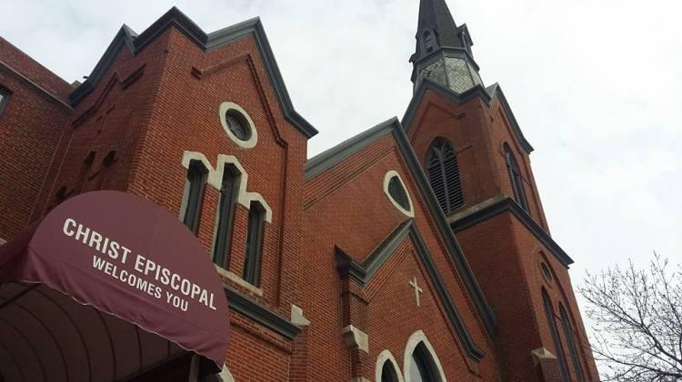 Christ Church, St. Joseph, Missouri, a few days ago. (Maria L. Evans)