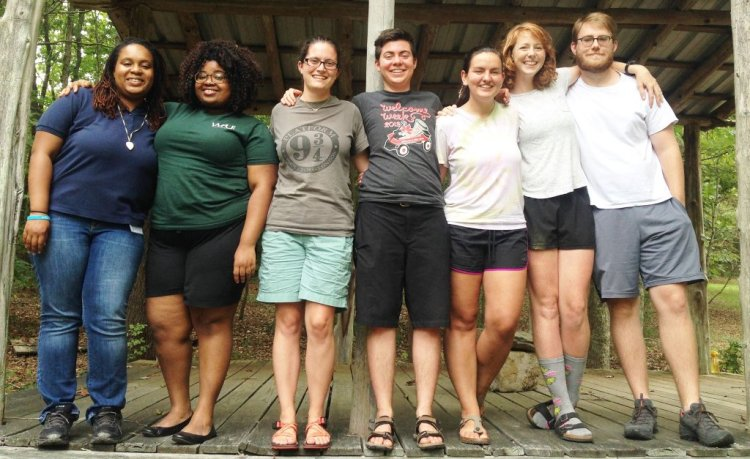 The 2016 class of Johnson Service Corps interns in Chapel Hill, North Carolina live in ecumenical community and work in a variety of local nonprofits; see their video below. (Episcopal Service Corps)
