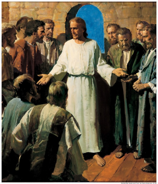 Harry Anderson: Jesus Shows His Wounds