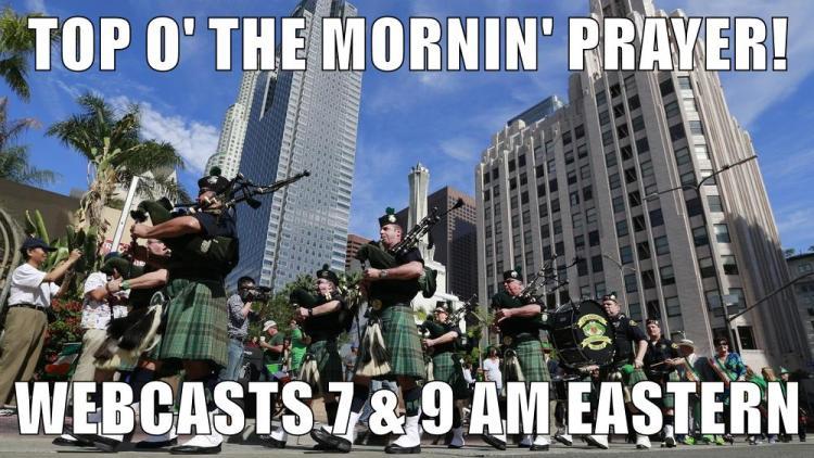 St Patrick's Day Webcast