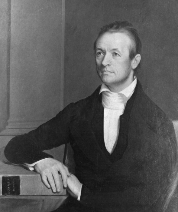 Adoniram Judson in 1846. He and his wife Ann landed first in Calcutta, but found that neither the Indians nor the British wanted him to proselytize among the Hindus. So they moved on to Burma, where the dominant religion is Buddhism, and avoided overt evangelizing while he worked on his language studies and she made friends with the high-born and low in the marketplace, developing her own linguistic and social fluency. He did eventually make 18 converts after a dozen years, then war broke out between Britain and Burma; Judson was imprisoned and tortured for over a year before finally being released. Burma ceded some territory, the area was opened to Christian missionaries, and Judson's work began to thrive – among the animists, not the Buddhists. However, his wife Ann died after all the hardships and separation, and his own health was damaged. He developed a lung disease, was advised to take a sea voyage as a cure and died aboard ship at 61, the first American ever to become a foreign missionary. (George Peter Alexander Healy)
