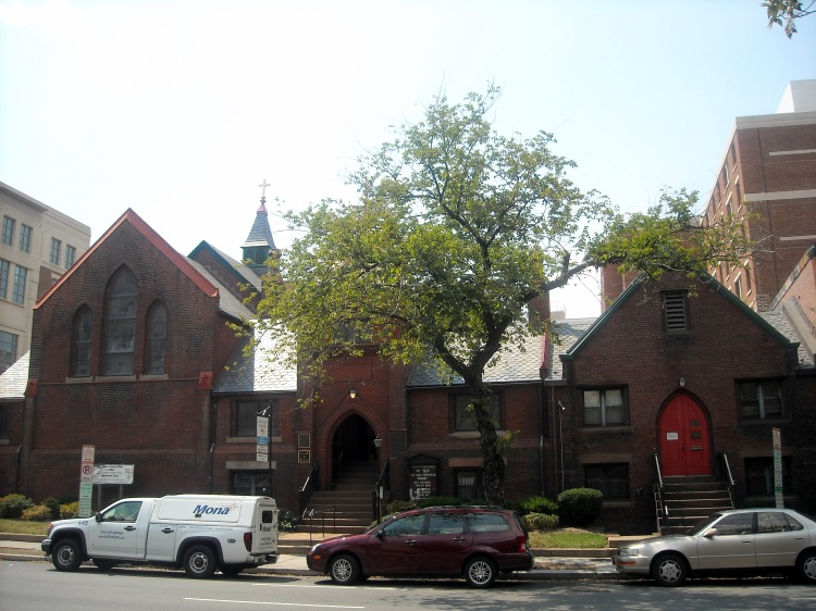St. Mary's, Washington, D.C., is the city's oldest Black Episcopal congregation, since 1867. It was a mission of St. John's, Lafayette Square, across from the White House, and early in its history the priest was the Rev. Alexander Crummell (feast day 10 September), but he and several parishioners left shortly afterward to found their own independent, Black-owned parish without boundaries, St. Luke's. St. Mary's finally gained independence in the 1920s. (Wikipedia)