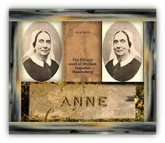 Anne Ayres' Sisters of the Holy Communion did not wear habits or take life vows because of the Protestant sensibility of the era; they were still the first Episcopal women's order in the United States. She was a full partner of Fr. Muhlenberg in all his mission projects, and after his death wrote his biography. (susanpowersbourne.net)