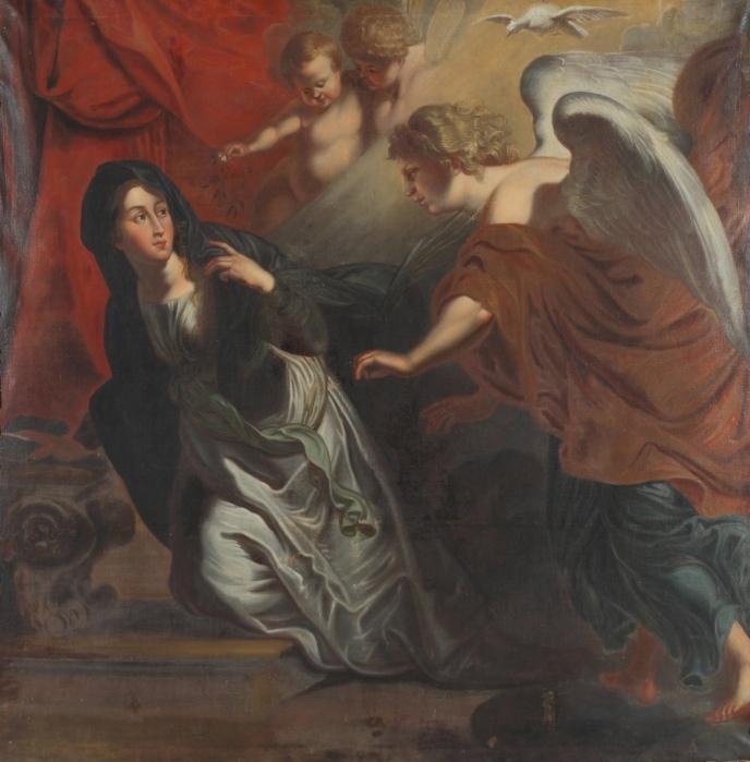 Johann Christian Schröder: Annunciation