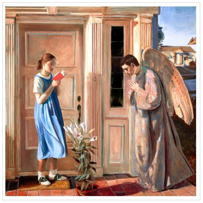 John Collier: Annunciation